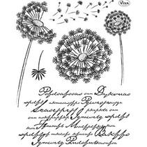 sellos transparentes, löwenzahn