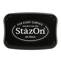 tinta de la estampilla StazOn, negro