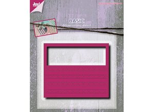 Joy!Crafts und JM Creation Punching and embossing template: Mery's rectangle fantasy