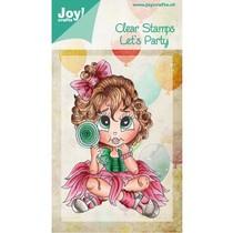 Transparent Stempel, Let´s Party