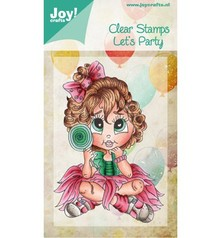 Joy!Crafts und JM Creation Transparent stamps, Let's Party