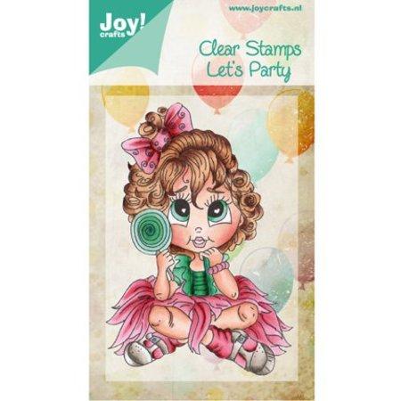 Joy!Crafts und JM Creation Transparent Stempel, Let´s Party