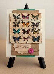Crafter's Companion A5 Enhed, gummistempler sæt: fugle, sommerfugle, krone og transport med hest