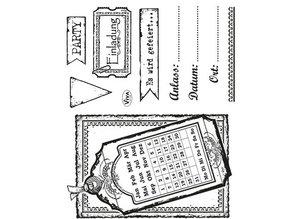 Viva Dekor und My paperworld Transparent stamp set: Invitation