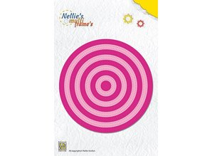 Nellie snellen Punching and embossing template: Multi frame around