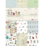 Docrafts / Papermania / Urban A4 Designersblock, Frühlingsmotive