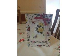 BASTELSETS / CRAFT KITS: romantic craft kit for card design