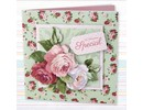 Docrafts / Papermania / Urban Decoupage Card Set, Simply Floral, Special Occasion
