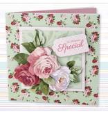 Docrafts / Papermania / Urban Decoupage conjunto de tarjeta, simplemente floral, Ocasiones especiales