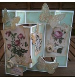 Docrafts / Papermania / Urban Designersblock romántica, A4