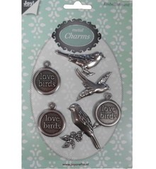 Docrafts / Papermania / Urban Charms metallici