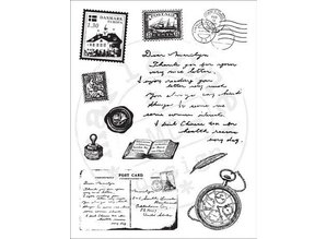 Marianne Design Transparent stamp: Travel