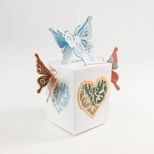 TONIC Stempling og prægning stencil af Tonic, stencil + stempel, sommerfugl Laura