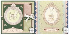 """DESIGNER BLÖCKE  / DESIGNER PAPER blocco della carta """"Animali viziati"""""""