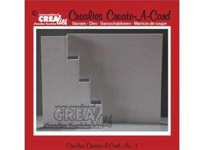 Crealies und CraftEmotions Metal skæring dør, for Pop-Up Cards!