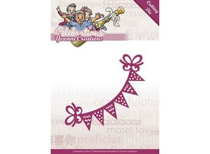 Yvonne Creations Punching and embossing template: Party