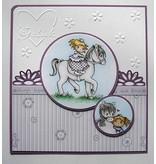Joy!Crafts und JM Creation Transparent stempel: My Little Horse