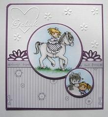 Joy!Crafts und JM Creation timbro trasparente: My Little Horse