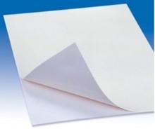 BASTELZUBEHÖR / CRAFT ACCESSORIES Luminous paper A4, 1 sheet, self adhesive