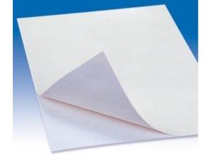 BASTELZUBEHÖR / CRAFT ACCESSORIES Lysende papir A4, 1 ark, selvklæbende