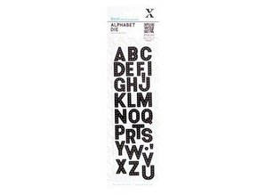 Docrafts / Papermania / Urban Stansning og prægning skabelon: Alphabet - breve