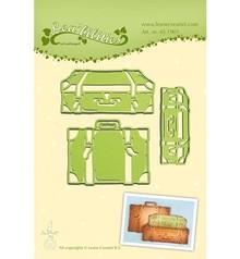 Leane Creatief - Lea'bilities Stampaggio e goffratura stencil: tronco