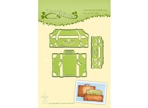 Leane Creatief - Lea'bilities Stamping and embossing stencil: trunk