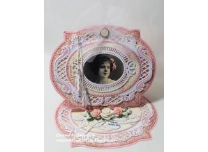 Marianne Design Punching and embossing templates Intricate decorative frame