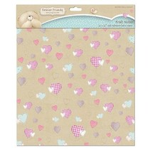Forever Friends, fabric adhesive with heart