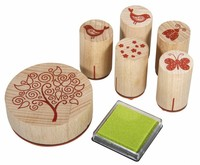Stempel / Stamp: Holz / Wood