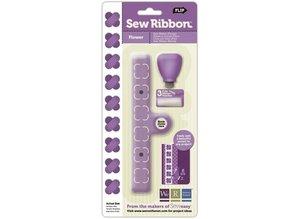 BASTELZUBEHÖR / CRAFT ACCESSORIES Sew Ribbon Tool and Stencil, ZigZag, tool