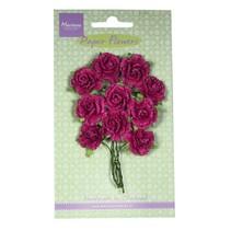 Paper Flower, Carnations - medium pink