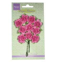 Marianne Design Fiore di carta, garofani, rosa brillante