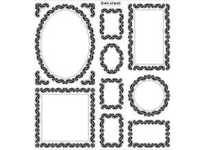 Sticker Scrapbook, adesivi in rilievo, cornice decorativa