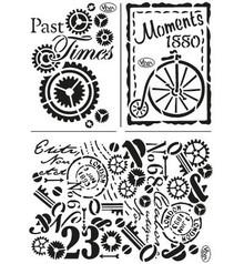 Viva Dekor und My paperworld Mask Stencil: Tidligere Times
