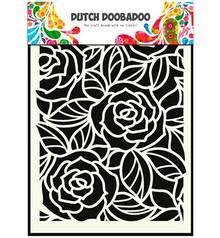 Dutch DooBaDoo Mask Stencil