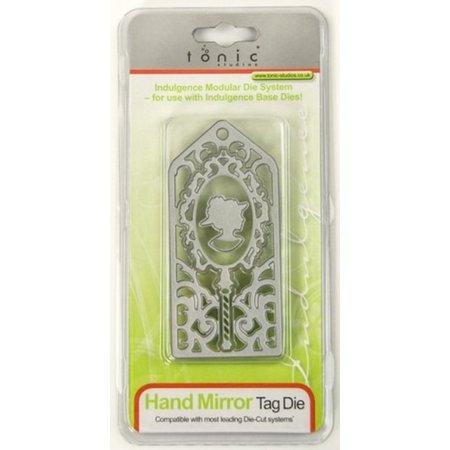 TONIC Stansning og prægning skabelon: Hand Mirror Day