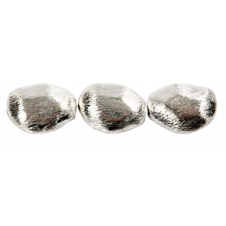 Schmuck Gestalten / Jewellery art 3 beads lump, size 20x15x8 mm