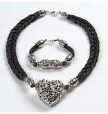 Schmuck Gestalten / Jewellery art 10 cap, size 11x20 mm, antique silver