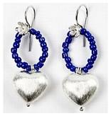 Schmuck Gestalten / Jewellery art 4 Exclusive pearl, heart, size 15x10x7 mm