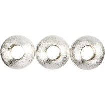 4 Exclusive Pearl, Circle, size 17x17x5 mm