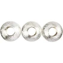 4 Exklusive Perle, Kreis, Größe 17x17x5 mm