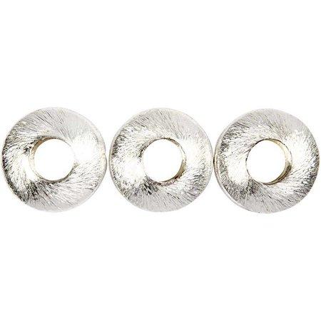 Schmuck Gestalten / Jewellery art 4 Exklusive Perle, Kreis, Größe 17x17x5 mm