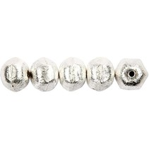 5 Exclusive pearl, nut, D: 10 mm