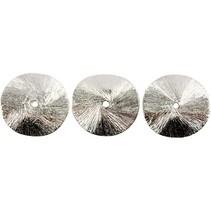 3 exclusivos de disco arqueado, tamaño de 10x10x1 mm