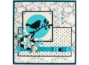Marianne Design Stansning og prægning skabelon: Bird på en gren