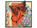 Marianne Design Troquelado y estampado en relieve plantilla: Mariposa