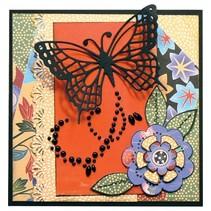 Stansning og prægning skabelon: Butterfly