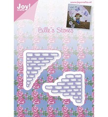 Joy!Crafts und JM Creation Punching and embossing template: stone pieces