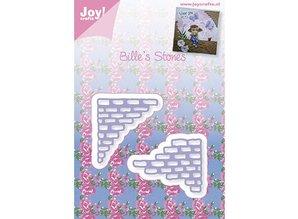 Joy!Crafts und JM Creation Stansning og prægning skabelon: sten stykker